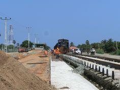 Railstation, Mannar/ Jaffna, Januar 2014
