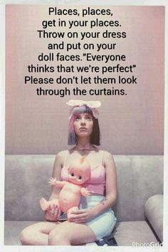 Melanie Martinez-Dollhouse D-O-L-L-H-O-U-S-E  this song is so amazing and so accurate for some people I know.
