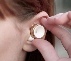 Elektroniczne stopery do uszu, które wyciszą hałas w biurze i szum miasta
