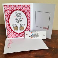 Lawn Fawn : Love you a Latte MostlyMandy: Valentine's Day Card Share