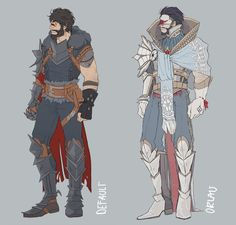 Re-imagining Hawke's champion armor got out of hand as usual