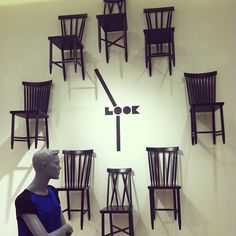 """SAKS FIFTH AVENUE, Richmond, Virginia, """"Timespiration... A different look at time"""", pinned by Ton van der Veer"""