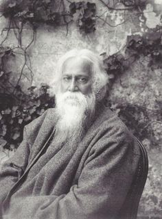 006 Rabindranath Tagore greeted by Helen Keller.. old