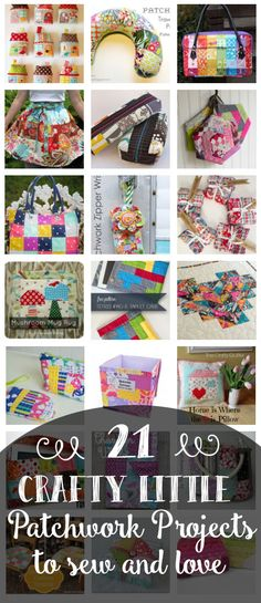 Sewing with scraps has never been more fun. Use these cute patchwork quilting ideas to create beautiful crafts.