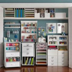 Cheap Craft Room Storage and Organization Furniture Ideas 12 - DecoRewarding - Cheap Craft Room Storage and Organization Furniture Ideas 11 -