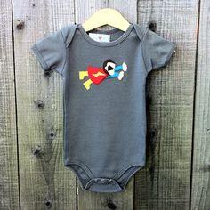 Super Chimp Onesie by jasperheartswren #Onesie #Babies #jasperheartswren