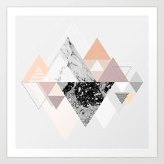 Graphic 110 Art Print by Mareike Böhmer Graphics | Society6