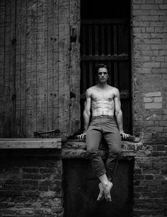 Harrison James, Principal Dancer - The National Ballet of Canada, photo by Karolina Kuras Ballet Boys, Ballet Dancers, Dance Pictures, Abs, Statue, Portrait, Photography, Canada, Instagram