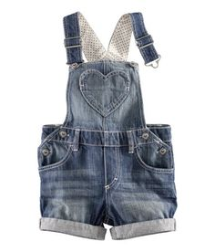 Only a baby can make overalls cute!