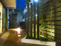 ナイトガーデンで夜のお庭の演出を! ビフォーアフター施工例写真 Rise Exterior 有限会社富士美建|タカショー リフォームガーデンクラブ