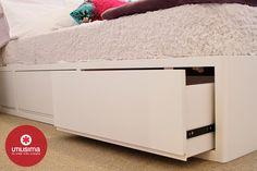 guardado bajo la cama - Grandes ideas - espacios chicos