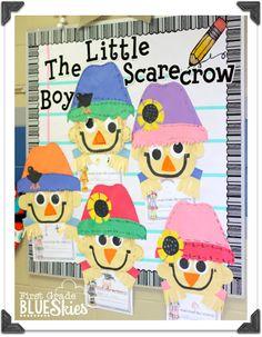 Scarecrow bulletin board for Fall!
