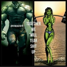 It's our thing! #swolemates#bestfriends #superheropartners
