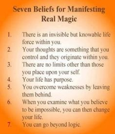 printable witches spell book pages   Seven Beliefs for Manifesting Real Magic