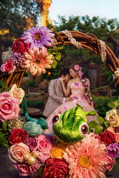 Tangled inspired portrait in the Magic Kingdom at Walt Disney World. Photo: Ali, Disney Fine Art Photography