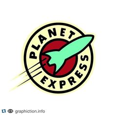 #Repost @graphiction.info with @repostapp. ・・・ Brand: Planet Express  From: Futurama Genre: TV show Project: Delivery company Category: Identity Designer: Matt Groening Year: 1999  #graphiction #futurama #planetexpress #identity #graphicdesign #logo #mattgroening by bermudez1988