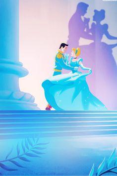 The Disney Dream — mickeyandcompany: Disney Princesses phone. Disney Artwork, Disney Fan Art, Disney Drawings, Cinderella And Prince Charming, Disney Princess Cinderella, Disney Princesses, Cinderella Nails, Cinderella Doll, Disney Cartoons