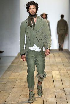 Greg Lauren Spring/Summer 2016 - New York Fashion Week: Men's