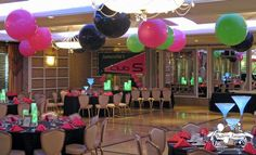 Club Theme Party Decor