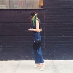 Insta-Stalking: Irene Kim, Model & Unicorn-Haired Goddess #refinery29  http://www.refinery29.com/irene-kim-model-instagram#slide-6  Also: those pants.