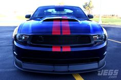 Supercharged 2011 Ford Mustang GT-JEGS Customer Feature Car