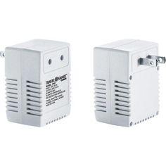 Travel Smart 50-Watt Reverse Transformer FR23, White