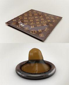Louis Vuitton $68 Condom