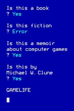 Buy Gamelife: A Memoir by Michael W. Clune and Read this Book on Kobo's Free Apps. Discover Kobo's Vast Collection of Ebooks and Audiobooks Today - Over 4 Million Titles! Best Book Covers, Beautiful Book Covers, Book Cover Design, Book Design, New Books, Good Books, Vincennes University, Book Jacket, Design Reference