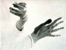 Glenn Gould's Hands, 1956 by Paul Rockett