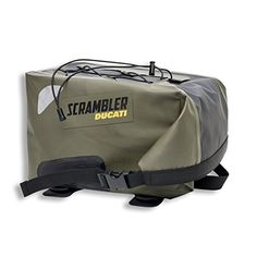 Ducati Scrambler Urban Enduro rear bag. 96780481A  The Urban Enduro Rear Bag features semi-rigid construction and secures itself atop the passenger seat. It features ample storage space, reflective panels, and a bungee on its topside for securing extra cargo. Fits Fits Icon Fits Fits Icon Classic Fits Fits Icon Fits Fits Icon Classic Full Throttle Fits Fits Icon Fits Fits Icon Classic Fits Fits Icon Fits Fits Icon Classic Full Throttle urban enduro  http://www.newmotorcyclestore.co..