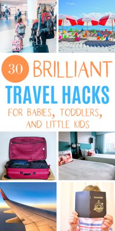 Travel Hacks for Families with Young Kids — A Mom Explores