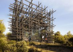 Sou Fujimoto's Geometric Forest in series of Spanish dream houses