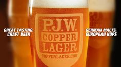 $4 23oz Copper Lager Every Day All Day Long at #PJsPub