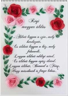 Quilling Boszi added a new photo. Hungary, Quilling, Folk, My Style, Bedspreads, Popular, Forks, Folk Music, Quilting