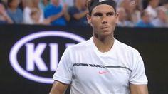 New party member! Tags: tennis rafael nadal nadal australian open derp australian open 2017 aussie open rafa nadal 2017 mens singles final