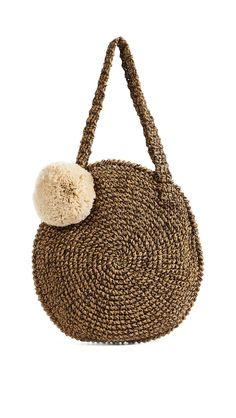 0711 Tulum Beach Round Tote | 15% off 1st app order use code: 15FORYOU