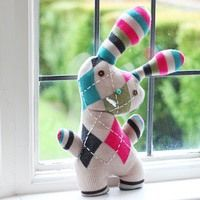 Transform an Old Sweater Into an Adorable Bunny Softie for Easter-- maybe my first sewn present for Liberty?