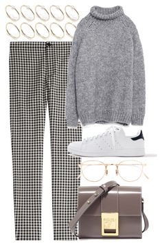 """Untitled #5505"" by rachellouisewilliamson ❤ liked on Polyvore featuring Victoria, Victoria Beckham, ASOS, Zara, adidas, Versace and Eyevan 7285"
