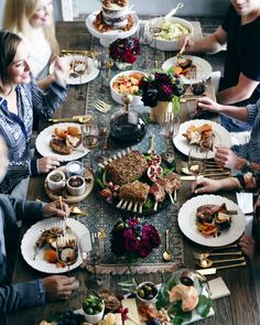 Beautiful Dining Table Feast!