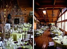 Rustic Wedding Reception Decor - Weddbook | Weddbook.com