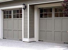Garage Door Color Idea