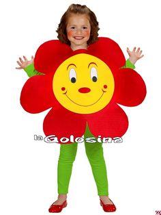 Disfraces infantiles (niño/a) (0 a 13 años) - 02 - Niñas (de 0 a 13 años) -Disfraz Inf. Niñ@: Flor.