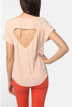 Love the back, and the color!