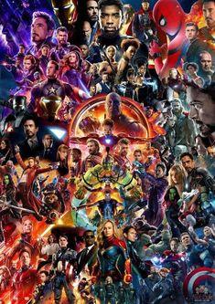 Mcu Movie Collage Poster Avengers Endgame Iron Man Thor Spider-Man Us - Marvel Marvel Dc Comics, Hero Marvel, Marvel Films, Marvel Funny, Marvel Art, Marvel Memes, Poster Marvel, Avengers Poster, All Marvel Heroes