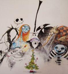 Nightmare Group, 1994Pen & ink, watercolor, colored pencil, pencil