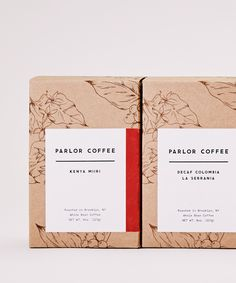 "115 Likes, 6 Comments - Maud Passini (@maudpassini) on Instagram: ""Illustrations for @parlorcoffee's new packagings ☕️ with @therealfranklyn . . . . . #graphicdesign…"""