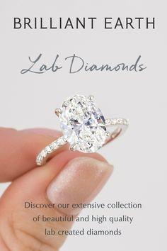 Beautiful Engagement Rings, Engagement Ring Cuts, Wedding Goals, Dream Wedding, Wedding Ideas, Lab Created Diamonds, Lab Diamonds, Dream Ring, Diamond Are A Girls Best Friend