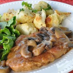 "Pork Marsala | ""Very good! The pork chops were so tender you didn't even need a knife! I finally found a good pork chop recipe! Thank you!"""