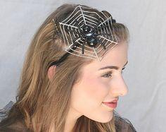 Cute spider hair accessory