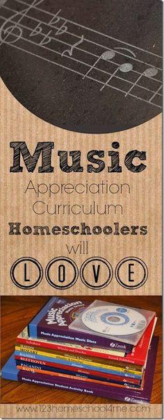 Music Appreciation Curriculum Homeschoolers will LOVE!